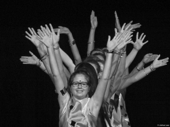 Die indischen Tänzerinnen