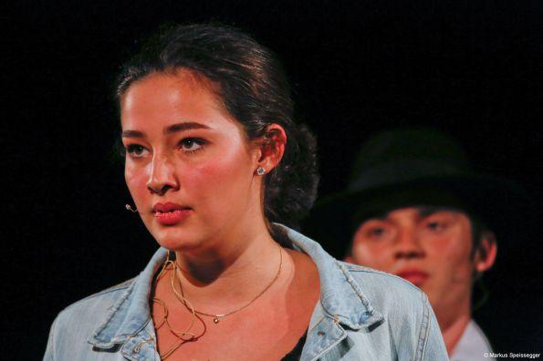 Nadja Graschi zeigte mit ihrem Nathan-Monolog eine beeindruckende Leistung
