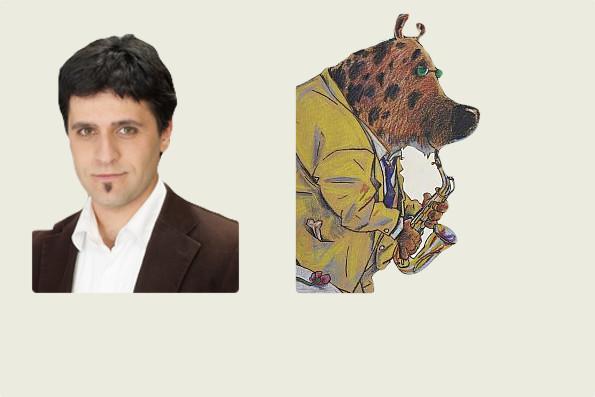 Giuseppe Spina spielt die räudige Hyäne