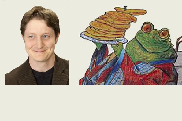 Simon Engeli spielt die schielende Kröte